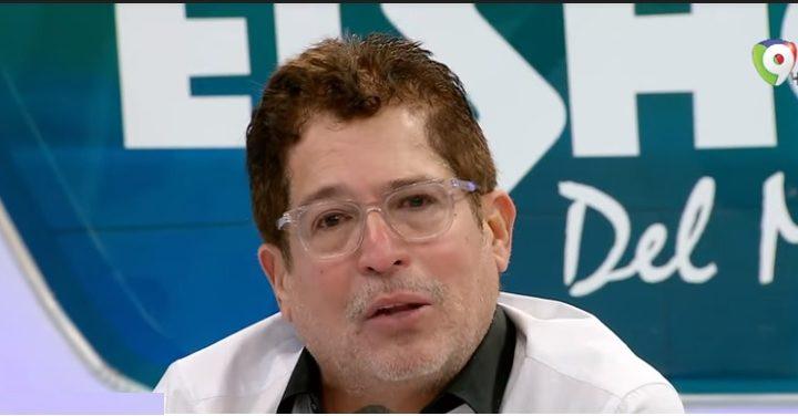 Iván-Ruiz-mientras-hablaba-este-lunes-en-el-Show-del-Mediodísa